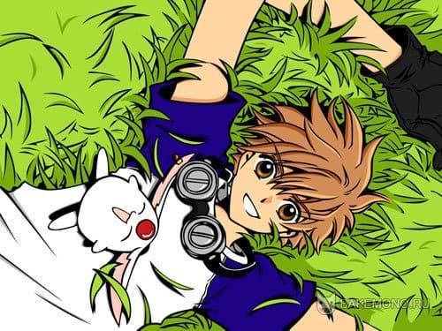 картинки аниме парни