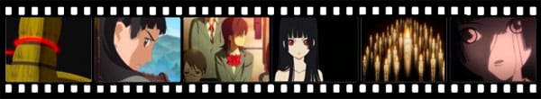 Кадры из аниме Jigoku Shoujo