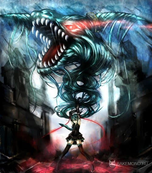 вокалоид и дракон