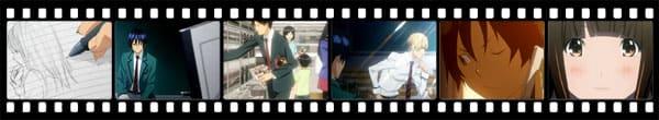 Кадры из аниме Bakuman.