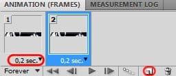 Запускаем панель анимации в Фотошопе