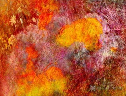 Текстуры - цветных красок