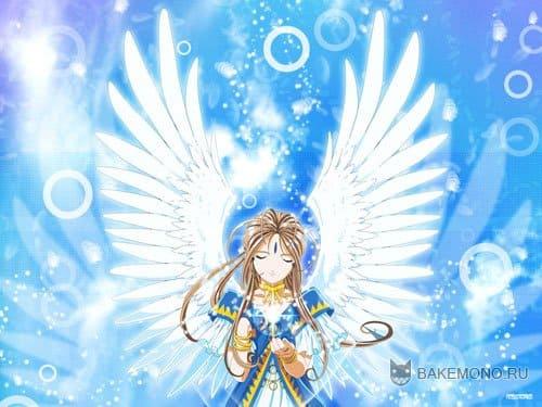 девушка с ангельскими крыльями