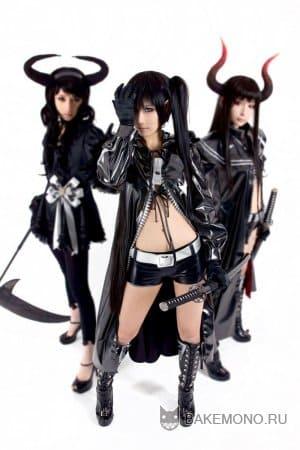 Фото персонажей аниме Стрелок с Черной скалы