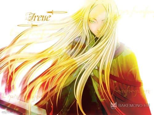 Claymore - девушка с золотыми волосами