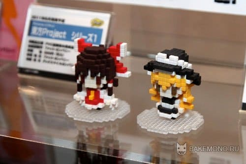 Pixtone Reimu & Marisa Preview