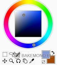 Выберите светло голубой цвет