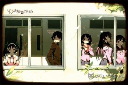Обои из аниме Истории монстров