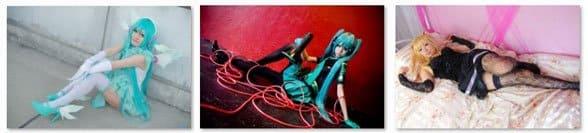 Косплей Hatsune Miku