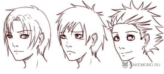 три типа волос