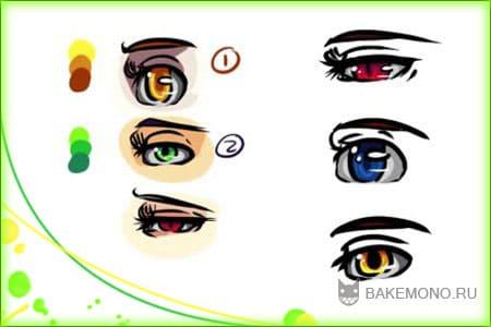 Как рисовать глаза в SAI