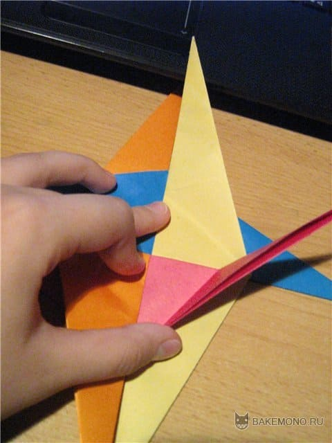 """Как сделать оригами """"Спираль"""""""