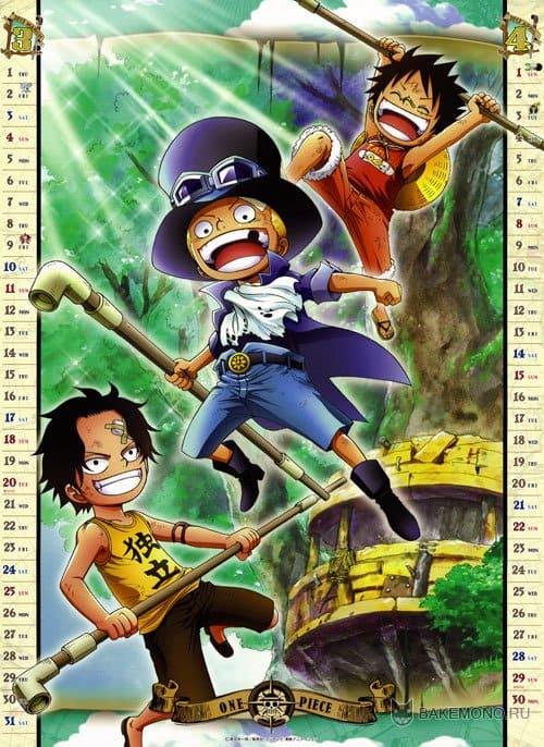 Календарь 2012 - One Piece