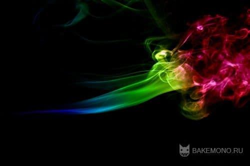 Текстура абстрактного дыма