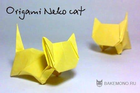 Origami Neko cat