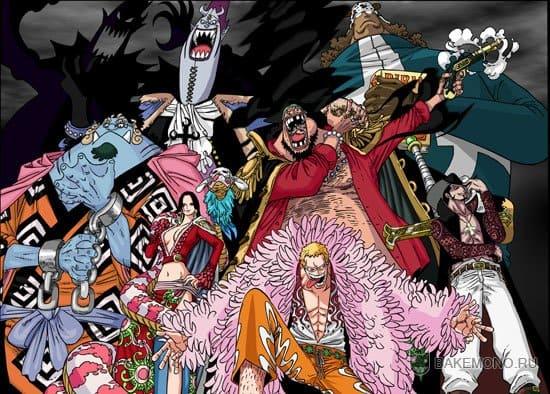 Скачать картинки, арты Shichibukai из аниме One Piece