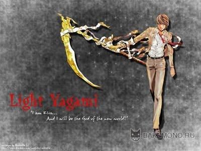 Обои аниме - Тетрадь смерти / Death Note