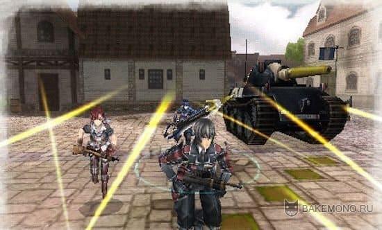 Valkyria Chronicles 3 PSP