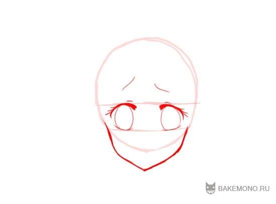 Как рисовать Neko девушку