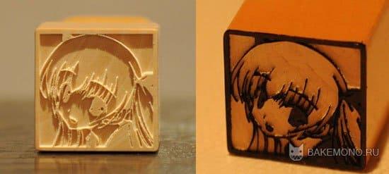 Милые аниме печати