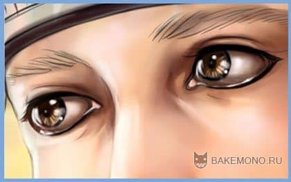 Покраска арта в в стиле реалистик - глаза