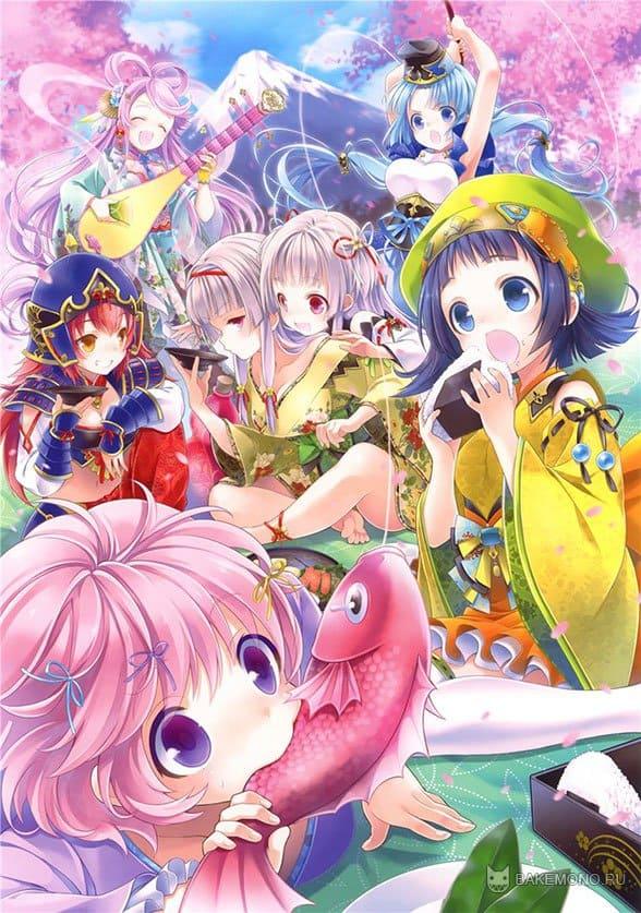 Сказочные аниме персонажи