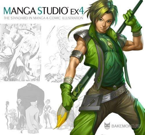 Уроки по Manga Studio