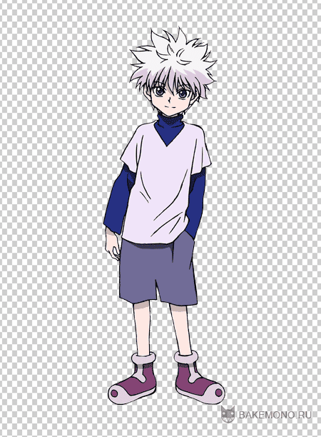 "Скрап-набор - Hunter X Hunter ""Killua"""