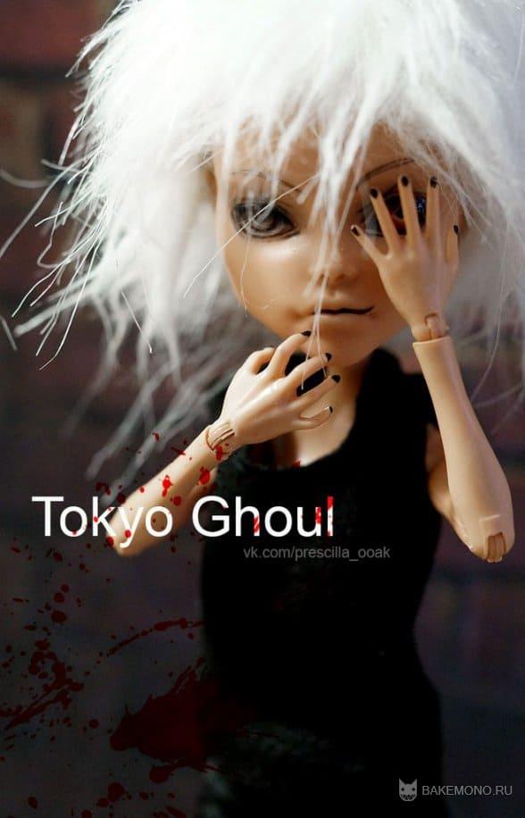 """Кукла Канеки из аниме """"Токийский гуль"""""""