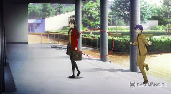Ошибка в аниме Fate/Stay Night