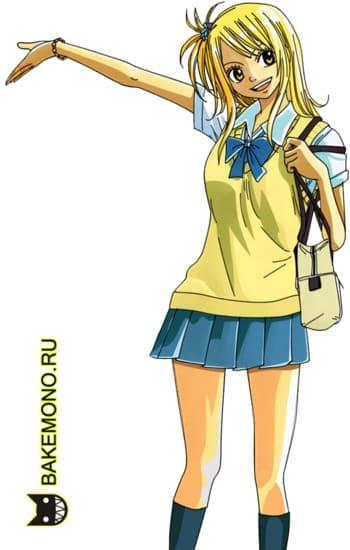 Скрап-набор Fairy Tail Lucy / Фейри Тейл Люси