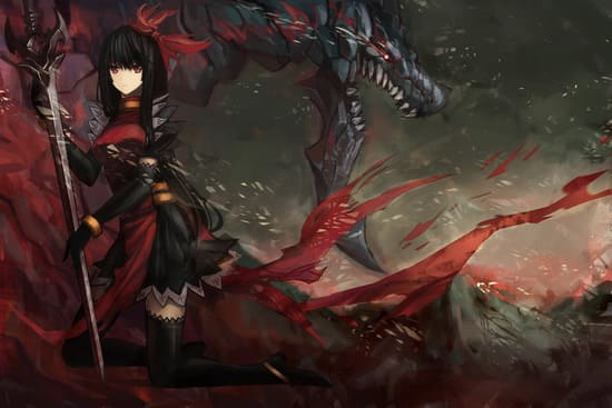 Девушка в бою
