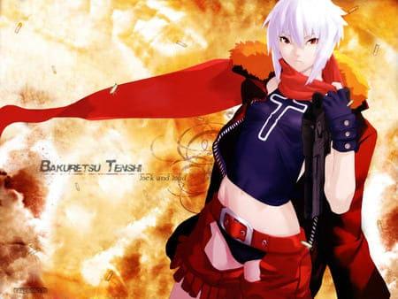 Обои из аниме Bakuretsu Tenshi