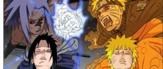 Картинка с героями Наруто для ноутбука