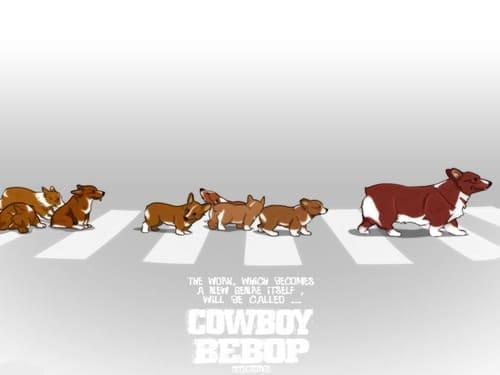 Мультяшные собаки переходят дорогу