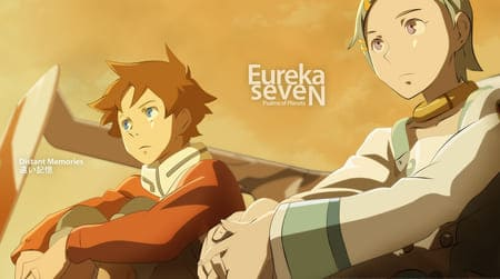 Обои с персонажами аниме Eureka Seven