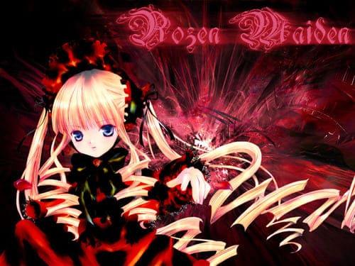 Обои из аниме Дева роза