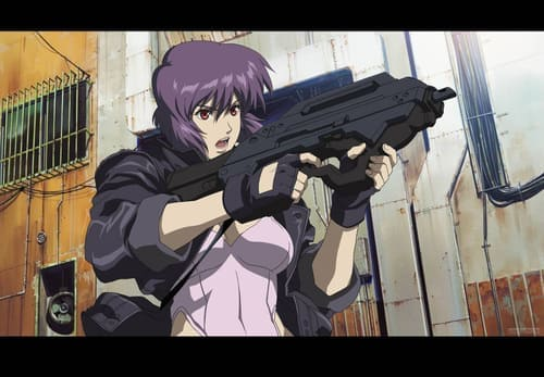Обои из аниме Ghost in the Shell