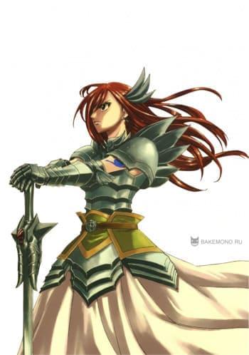 Скрап-набор Fairy Tail - Erza Titania