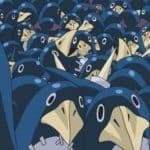 Картинка аниме пингвинов для обоев