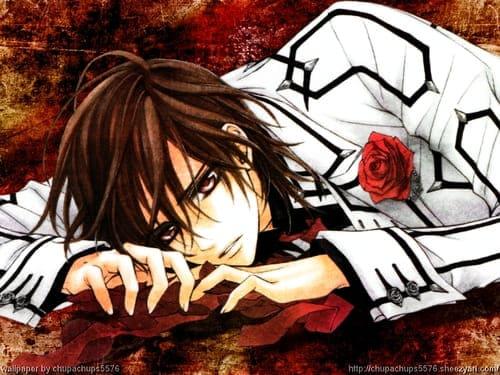 Обои из аниме Рыцарь вампир с парнем