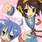 Девушки из аниме дуэта