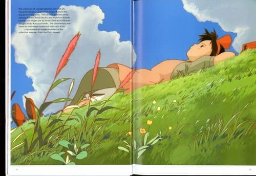 Hayao Miyazaki - The Art of Kiki's Delivery Service (Artbook)