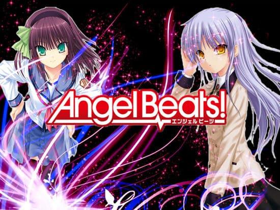Обои из аниме Ангельские ритмы
