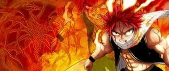 Огненные обои Fairy Tail