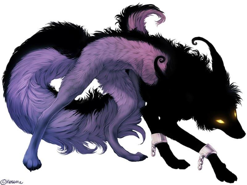 Картинки - Аниме волки демоны