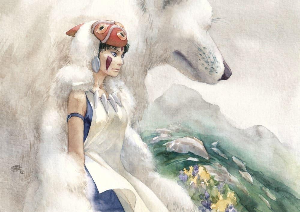 Девушки и волки