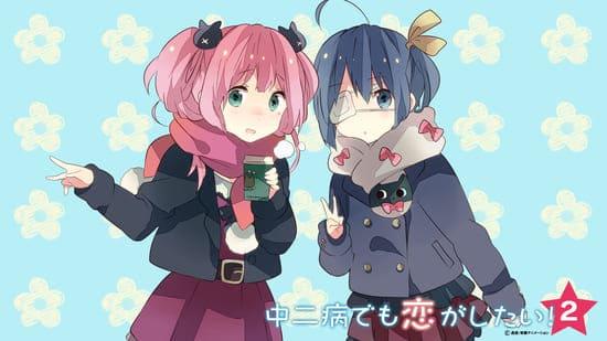 Картинка с двумя милыми девушками для компа