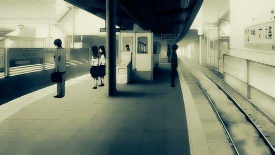 Обои с изображением вокзала