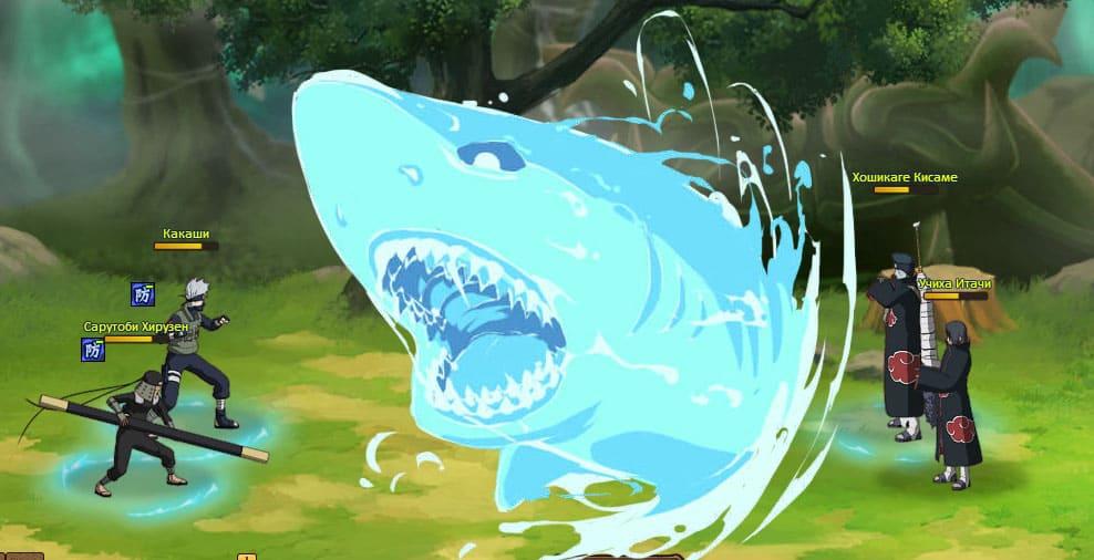 Новая браузерная онлайн игра по аниме «Наруто» - «NINJA WORLD»